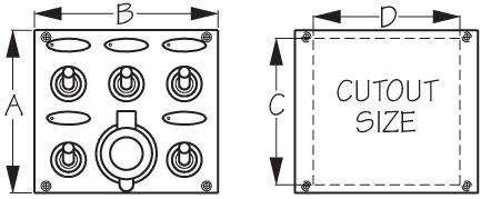 diagram of panel